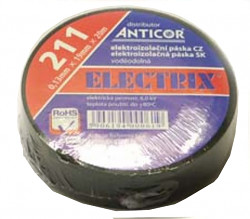 Páska izolačná PVC 19x20 čierna