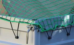 Síť krycí pro přívěs s gumolanem 2.0x3.0m zelená