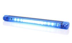 Výstražná lišta modrá LED 1028 12-24V