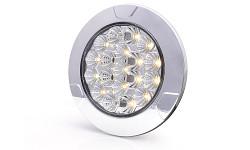 Vnútorné LED svietidlo guľaté 991 12-24V číre