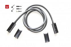 Kábel 1m s 2x Snap-in konektorom 1.5mm