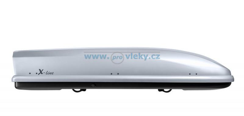 Střešní box NEUMANN X-line 710 stříbrný lesklý 420l