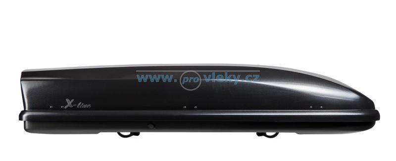 Střešní box NEUMANN X-line 710 černý lesklý 420l