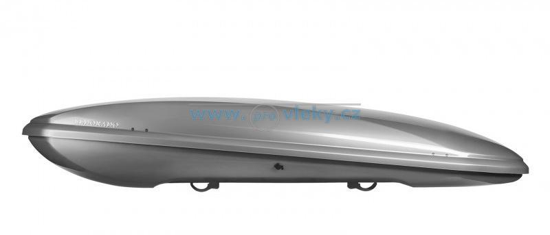 Střešní box NEUMANN ELDORADO stříbrná lesklá 400l
