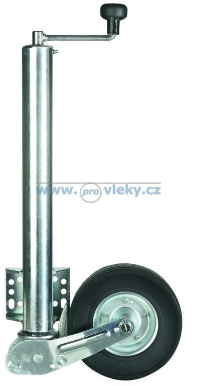 Opěrné kolečko 570/60mm sklopné W/přítlak 500kg - Náhradní díly - Opěrná kolečka + opěrné nohy