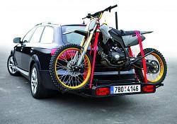 Nosič motocyklu na kouli Hakr Trip Cross