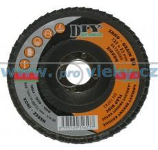 Lamelový kotouč na nerez 125mm / zrno 60 DIY - ZIR