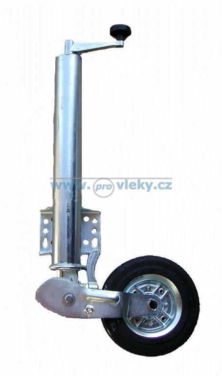 Opěrné kolečko 470/60mm 200x65mm příruba 30mm /500kg - Náhradní díly - Opěrná kolečka + opěrné nohy