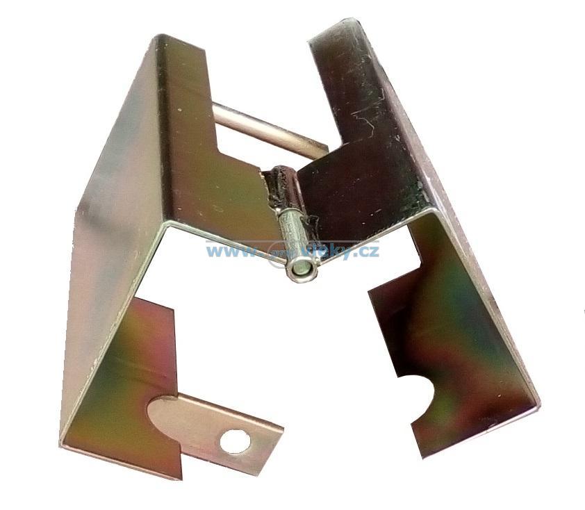 Zámek tažného kloubu s pantem B329 - Náhradní díly - Zámky + zabezpečení přívěsů