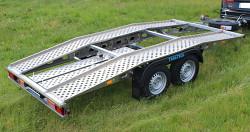 Hliníkový autopřepravník Syrius 2700kg 390kg