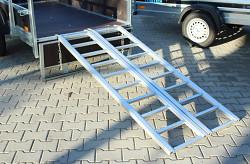 Nájezd hliníkový 200x80cm skládací