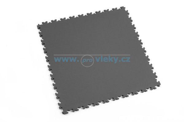 PVC dlaždice Fortelock ECO šedá kůže 51x51cm