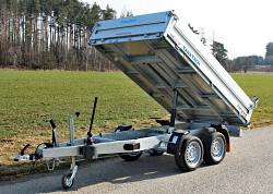 Přívěs 1-stranný sklápěč Pongratz RK 2615 2500kg