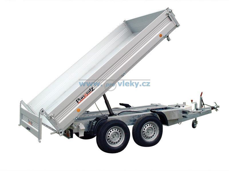 Přívěs 3-stranný sklápěč Pongratz SKS 3118 2600kg