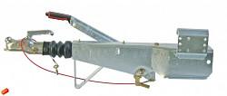 Nájezdová brzda 251S na jekl 100x100 do 2700kg