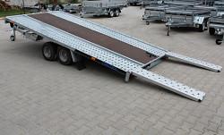Přívěs na přepravu aut GT KIPPBAR 400 S 2700kg sklopný