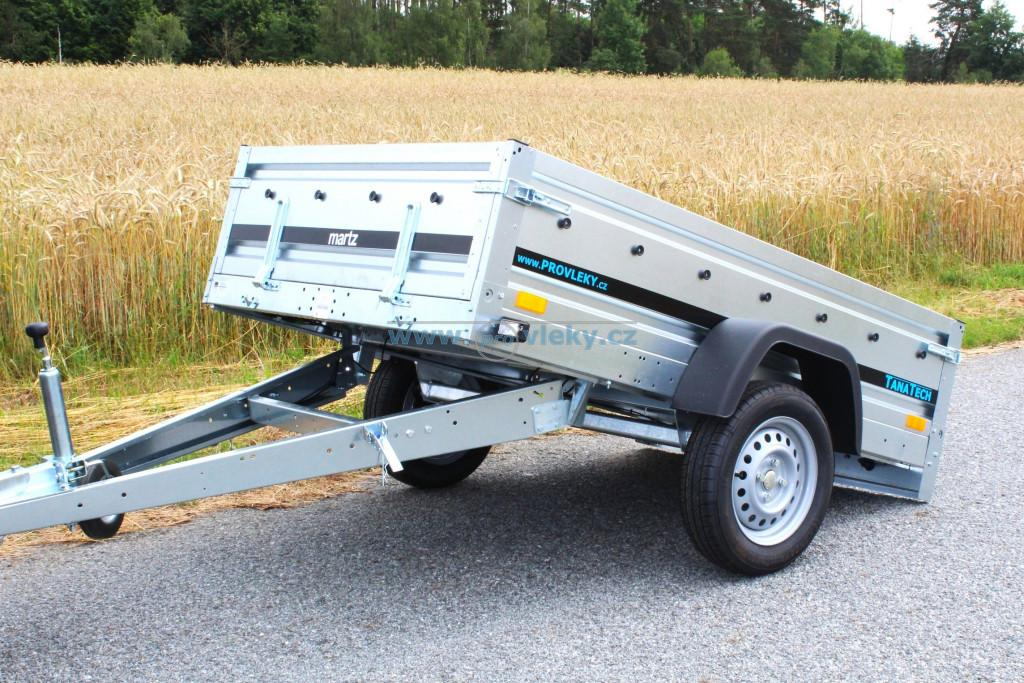 Přívěs martz MAXI 205 1250x2050 750kg
