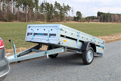 Přívěs martz MAXI 263 1250x2630 750kg