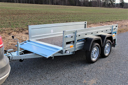 Přívěs martz MAXI 263/2 750kg 2630x1250