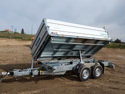 Přívěs 3-stranný sklápěč Pongratz SKS 3600/17 3500kg