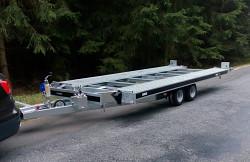 Přívěs martz  GT KIPPBAR S 3000kg sklopný přepravník aut