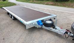 """Přívěs GT PLATO 5021 2700kg 10""""kola"""