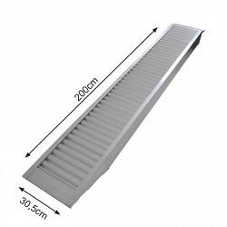 Nájezd hliníkový  200x30,5cm 1655kg / 1ks