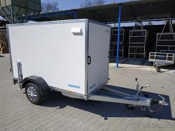 Skříňový překližkový přívěs TFD 250.00 1300kg