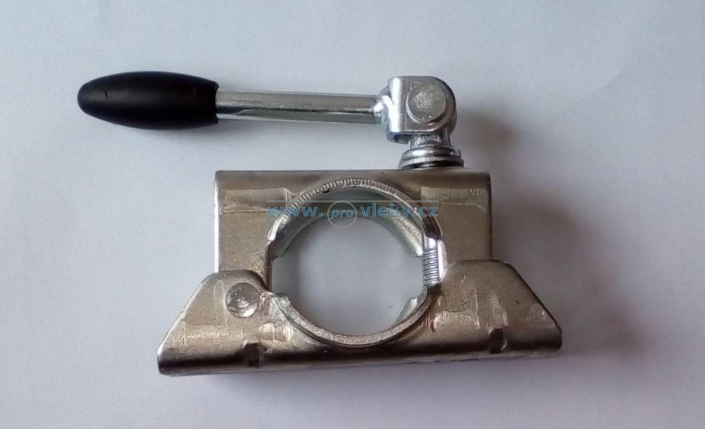 Držák opěrného kolečka s otočnou kličkou B532 - Náhradní díly - Držáky opěrných koleček