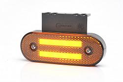 Boční oranžová svítilna 2x LED WAS 1222 neon vč. blinkru