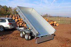 Přívěs MARTZ KIPPER 300/2 2700kg Kombi