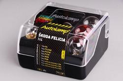 Krabička AUTOLAMP Škoda Felicia H4