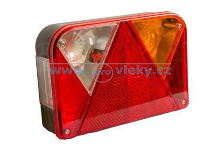 Koncová svítilna martz pravá, žárovky+konektor - Náhradní díly - Zadní světla sdružená