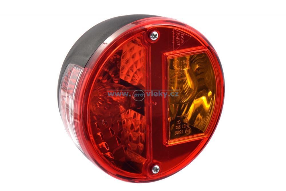 Svítilna koncová DPT 10 kulatá - Náhradní díly - Zadní světla sdružená