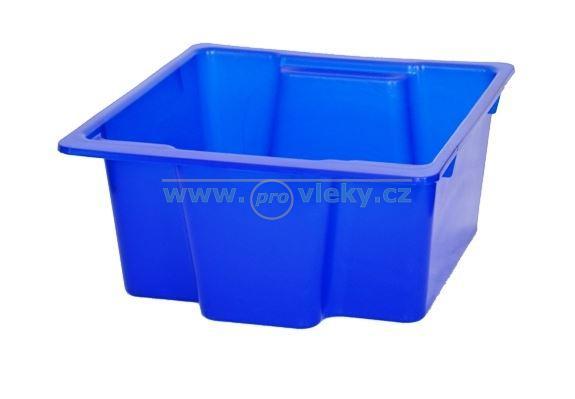 Stohovatelný plastový box 6l červený