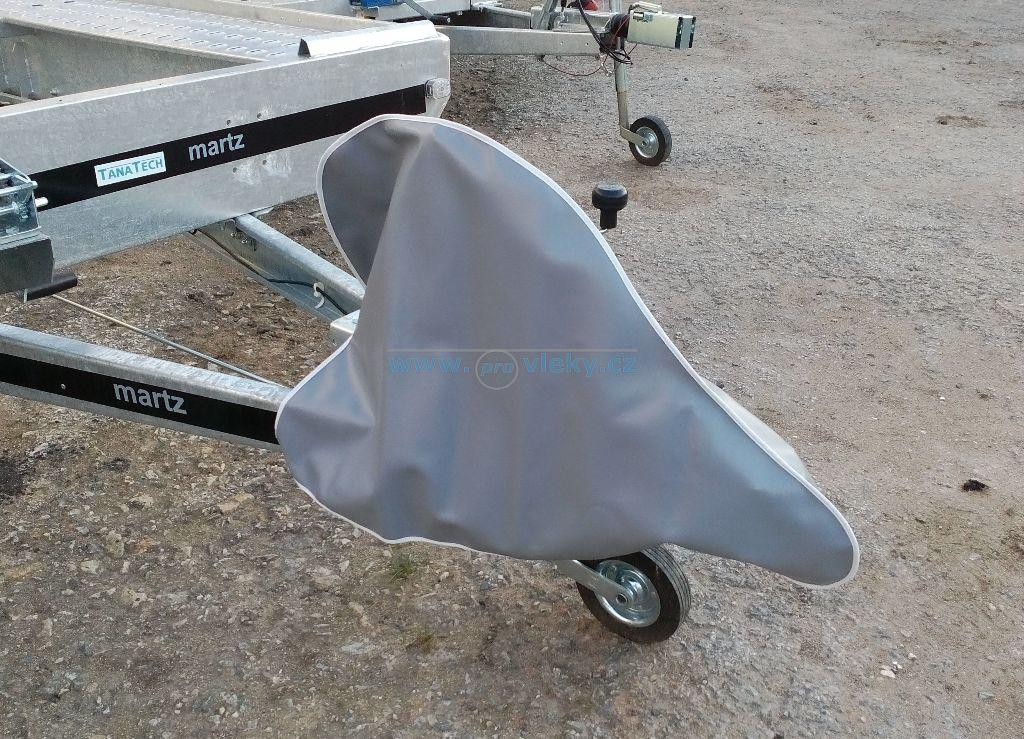 Plachtový kryt nájezdové brzdy 61x82cm