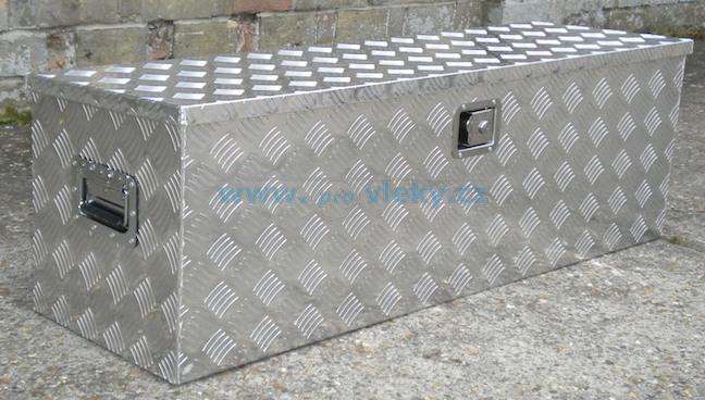 Hliníkový box 1230x380x380mm