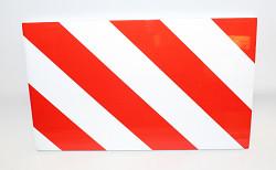 Reflexní tabule červenobílá 20x33cm