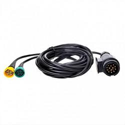 Kabeláž elektroinštalácie 13-pólů 9m