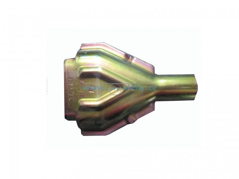 Kryt bowdenu trojúhelníkový Knott - Náhradní díly - Díly do brzd Knott