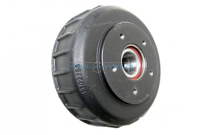 Brzdový buben Al-ko pro kol. jednotku 2361mm; 112x5 - Náhradní díly - Brzdové bubny