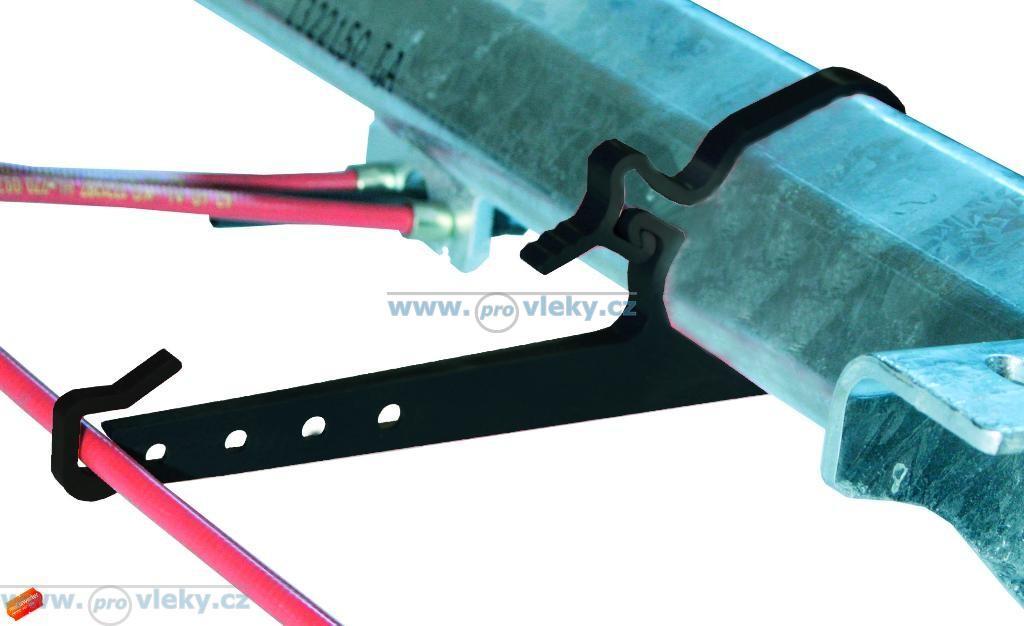 Držák lanovodu nápravnice 110mm pro B1800 AL-KO