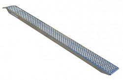 Nájezd hliníkový 2000x260mm/nosnost 500kg/ks
