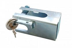 Safety box přívěsného kloubu se zámkem SILVER