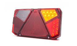 Zadní skupinová svítilna W124 922 LED pravá - osvit SPZ