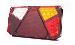 Zadní skupinová svítilna W124 920 LED pravá - osvit SPZ, couvací světlo
