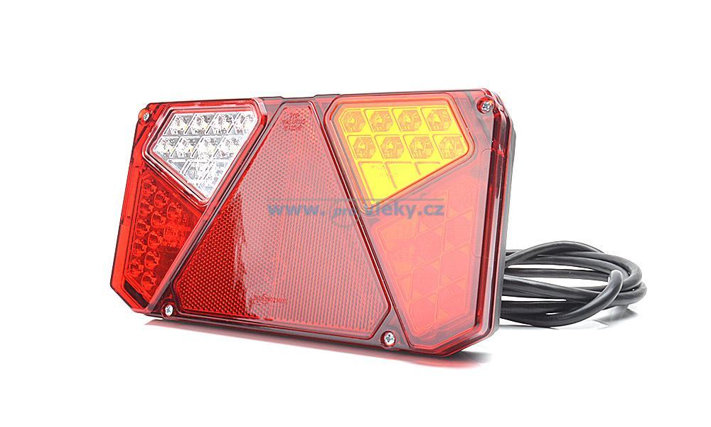 Zadní skupinová svítilna W124 940 LED pravá - couvací světlo