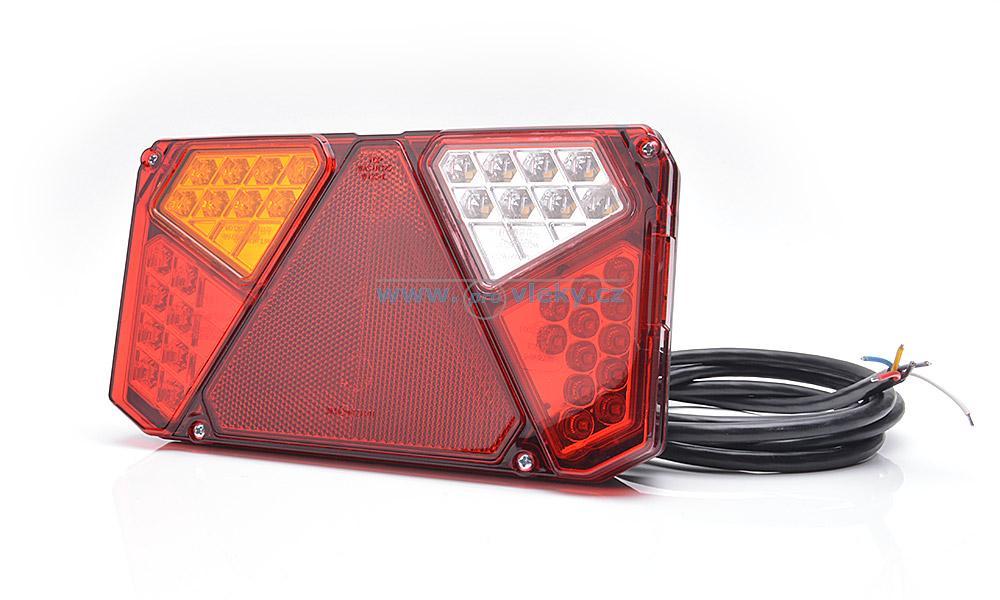 Zadní skupinová svítilna W124 939 LED levá - couvací světlo, mlhovka