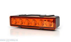 Výstražné světlo W117 LED pro vestavbu