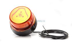 Pracovní výstražný maják W126 866.6 LED; na tyč